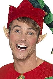 Deluxe elfo cappello con orecchie cappello per presepe natalizio ... 1fd9a8461610