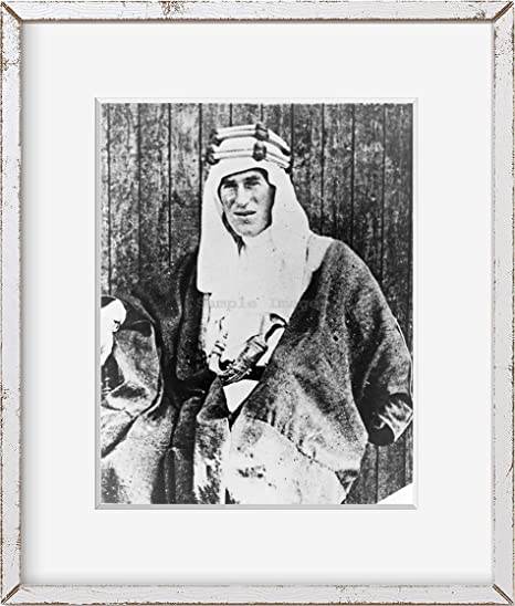 """as Lawrence of Arabia Lawrence 8/"""" x 10/"""" 1920 Photo T.E"""