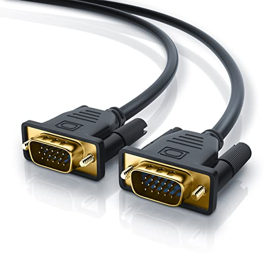 13 opinioni per 5m Full HD VGA Cavo | contatti dorati | risoluzioni HDTV fino 2560x1600 | 2
