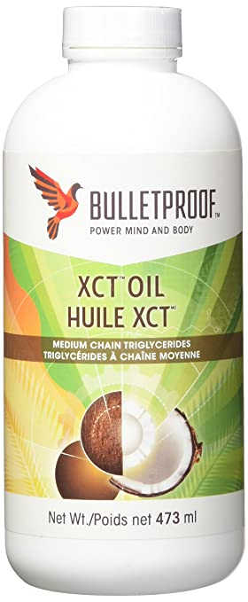Amazon Com Bulletproof Xct Mct Oil 437 Ml Health Personal Care