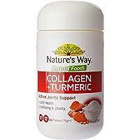 Nature's Way Collagen plus Turmeric Tablets, 0.097 Kilograms