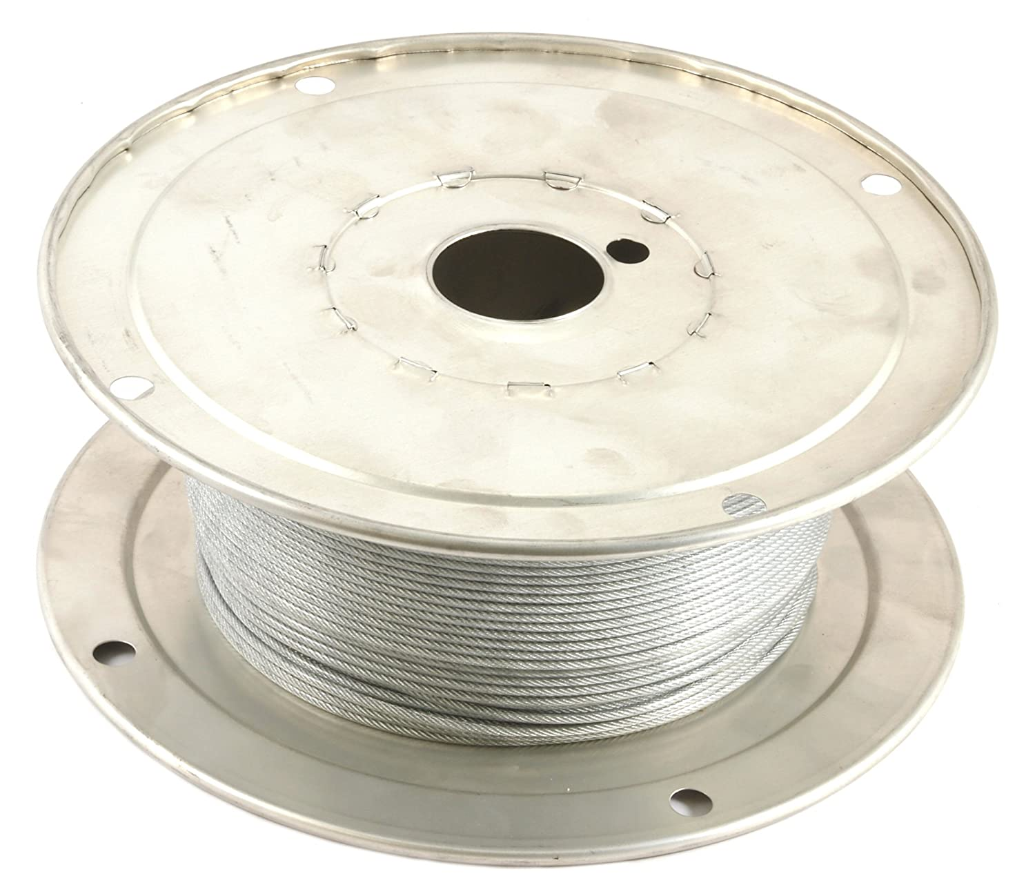Amazon.com: Forney 70450 Wire Rope, Vinyl Coated Aircraft Cable ...