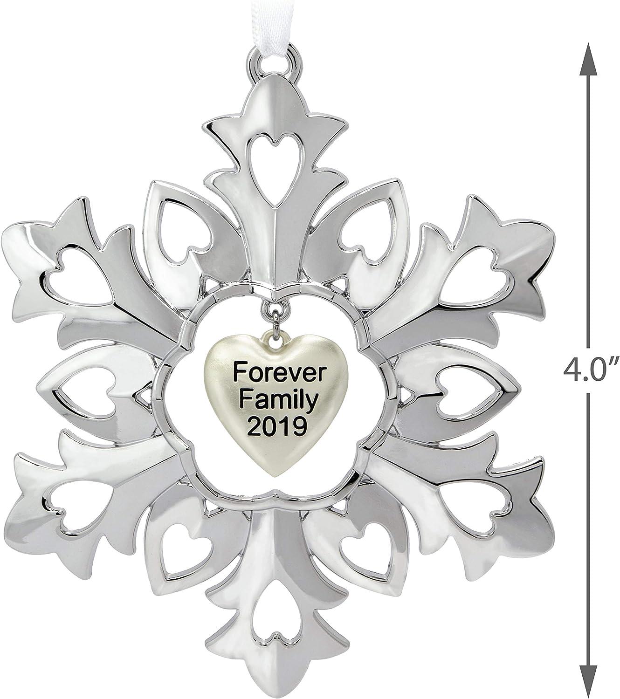 2018 Hallmark Forever Family 2018 Porcelain Ornament