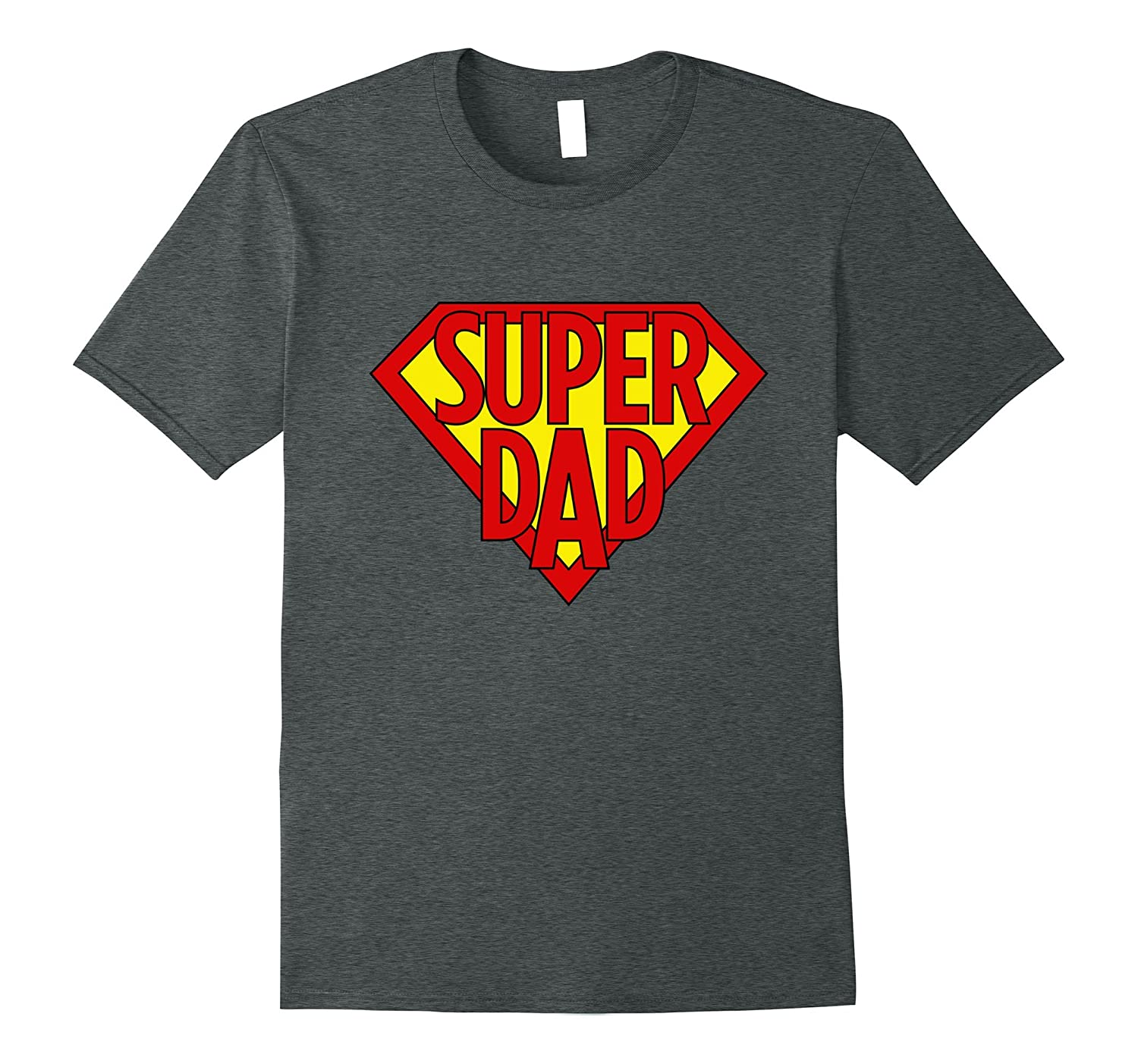 77ff79ac Mens Best Fathers Day T Shirt Funny Captain Super Hero Dad Tshirt-ah my  shirt