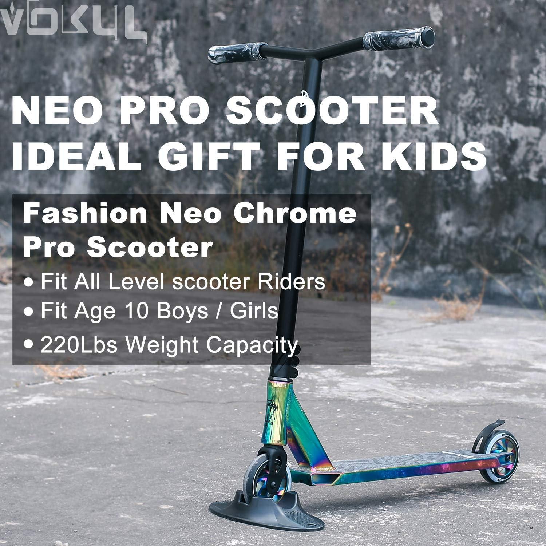 Amazon.com: VOKUL Pro Scooter – Patinete Freestyle Stunt ...