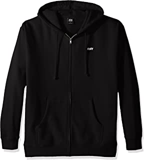 Amazon.com: Obey Mens Dillinger Hooded Zip Jacket: Clothing