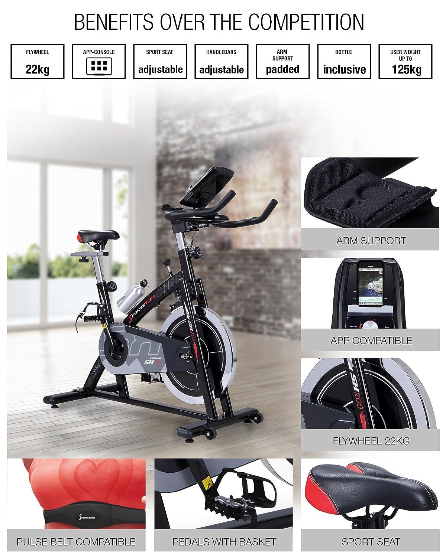 sportstech SX200 indoor exercise bike