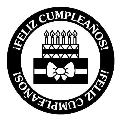 Amazon.com: Artemio sello de madera, arthe695 e cumpleaños ...
