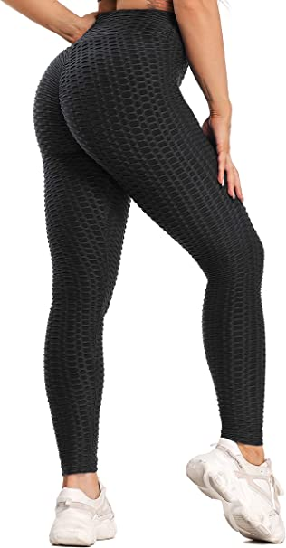 Qiopes Leggings da Donna Comodi e Traspiranti per Yoga Pantaloni Sportivi