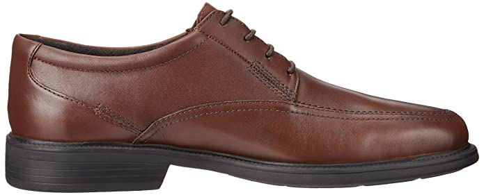 Hombre Ipswich Oxfords, Black Smooth Leather, 10.5 2E US