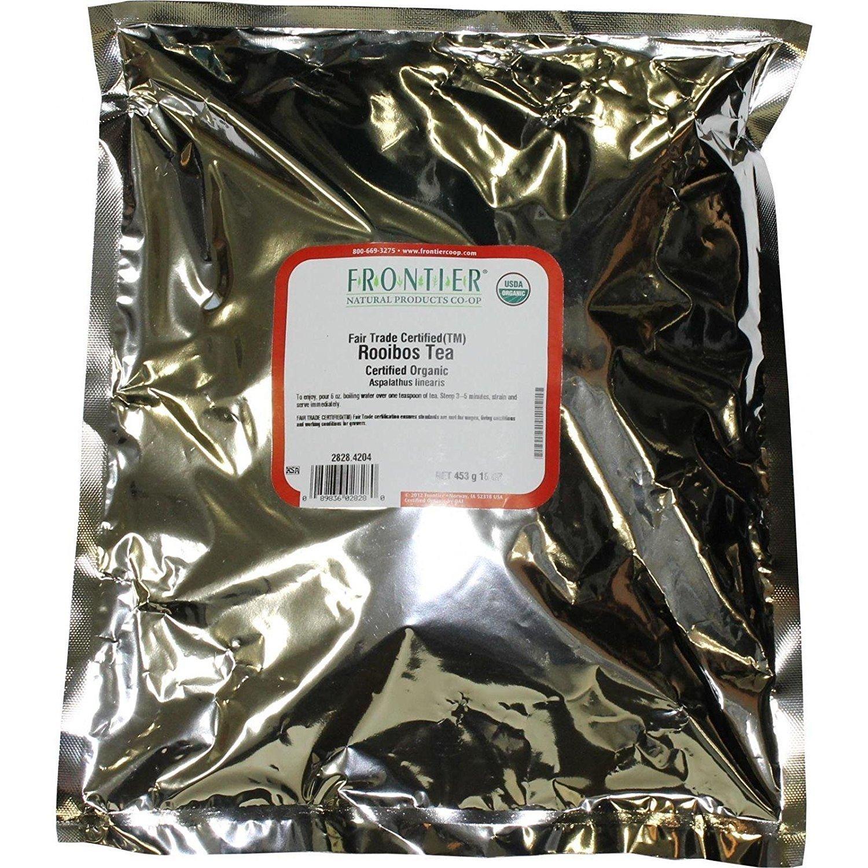 Frontier Co-op Rooibos Tea, Certified Organic, Fair Trade Certified, 1 pound, 16 ounces by Frontier Co-op