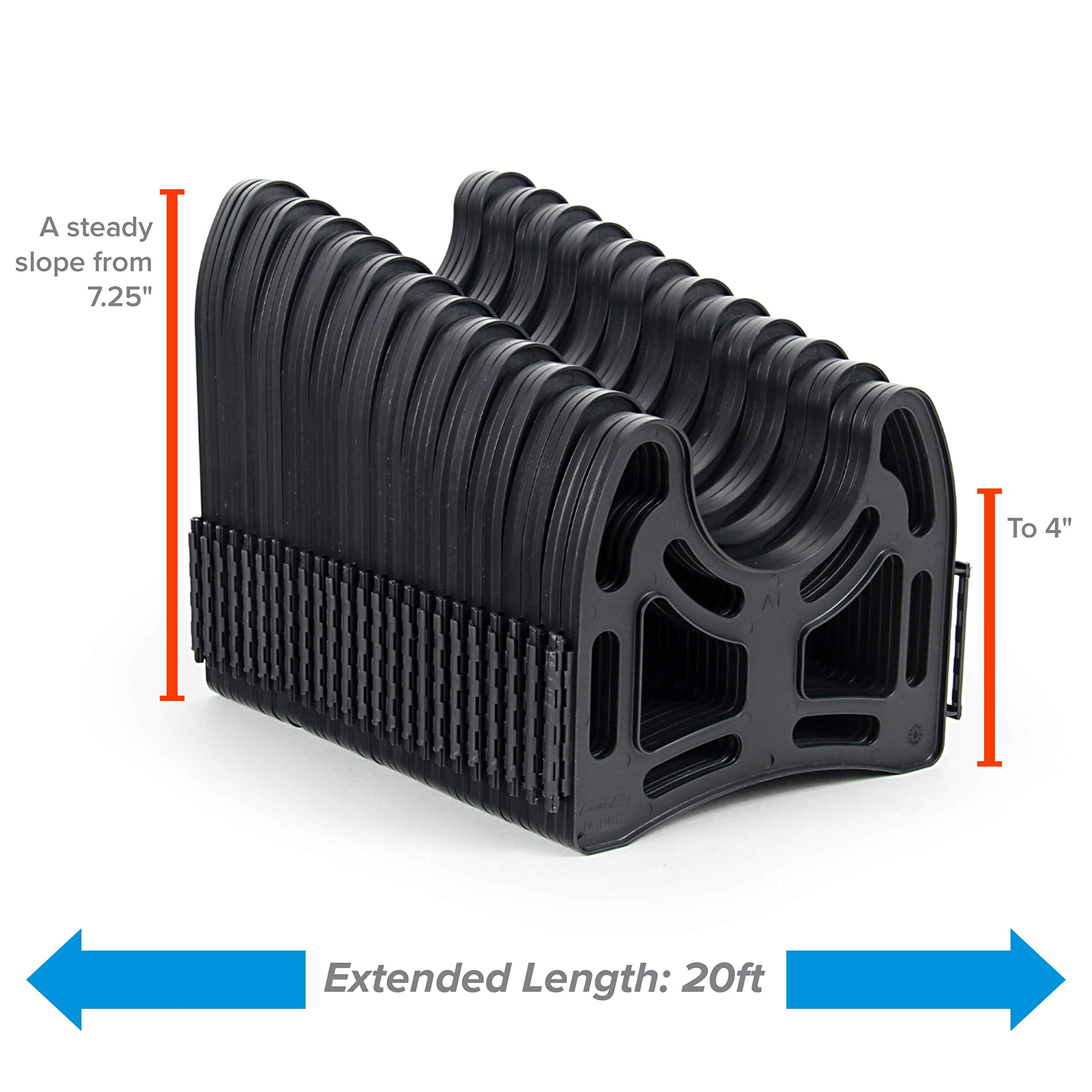 Made From Sturdy Lightweight 43051 20ft Sidewinder RV Sewer Hose Support