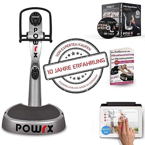 POWRX Active Evolution 2.7 - Plataforma vibratoria de fitness, color ...