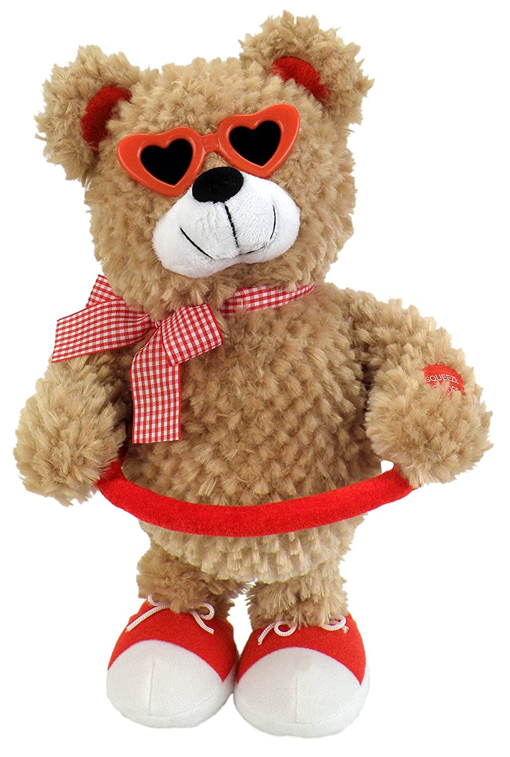 Chantilly Lane Sugar Pie Bear Sings Sugar Pie Honey Bunch 13 Plush by Chantilly Lane