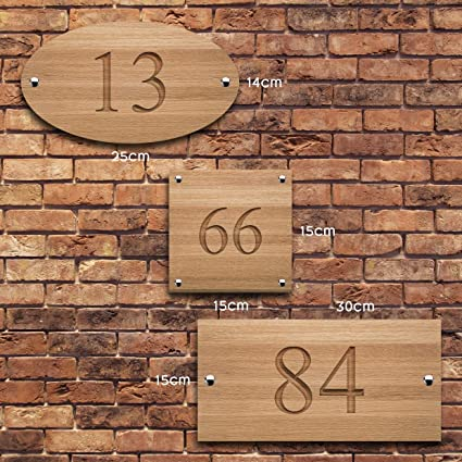 Active Window Films Personalised House Sign V Carved Custom Engraved Front Door Wood Number Plaque Amazon Co Uk Kitchen Home