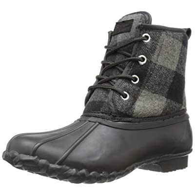 Western Chief Women's Waterproof Four-Eye Lace-Up Duck Up Rain Boot | Rain Footwear