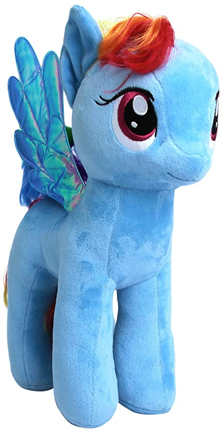 Image Unavailable. Image not available for. Color  Ty Beanie My Little  Rainbow Dash Large Blue 300827e4a152