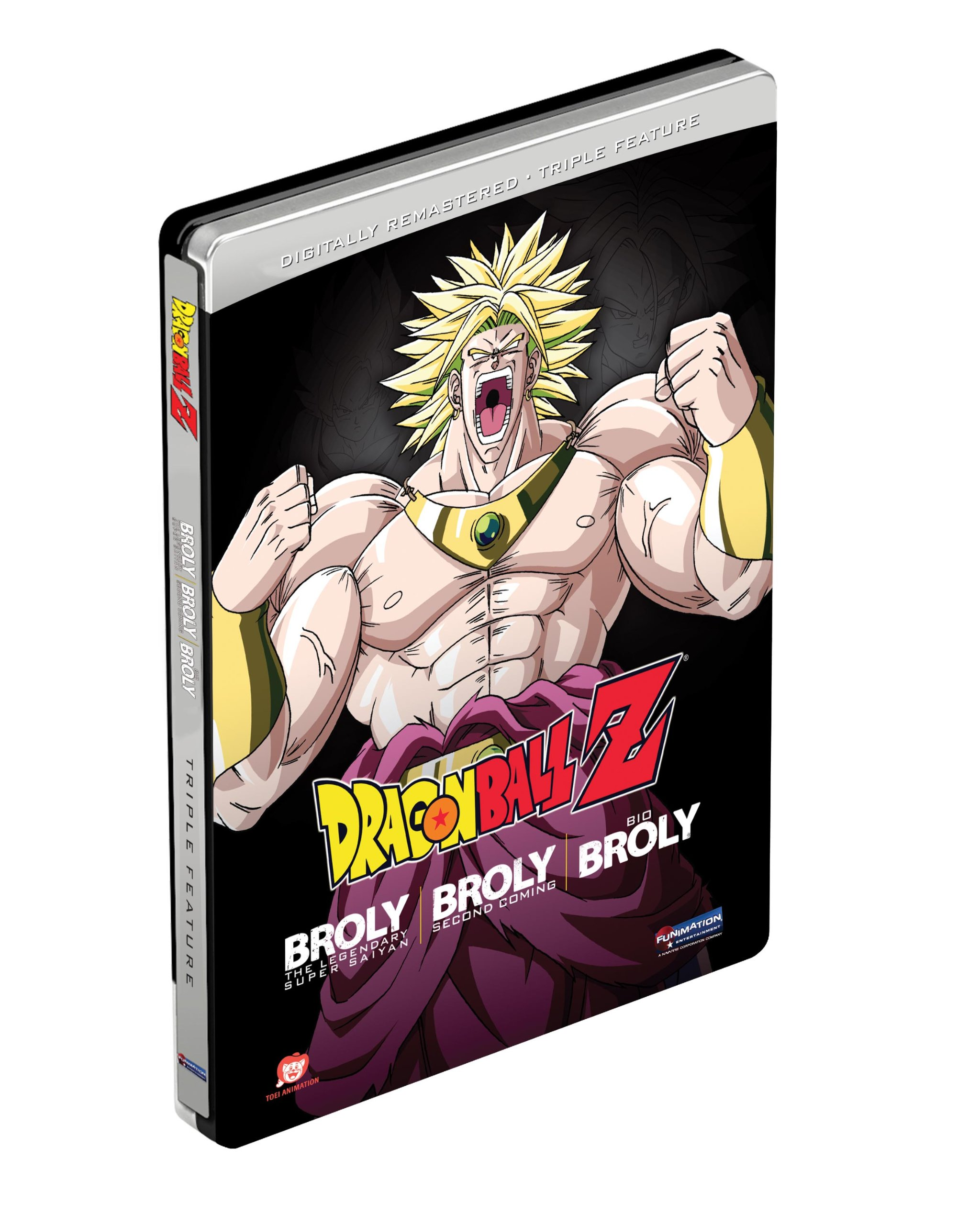 Dragon Ball Z: Broly Triple Feature (Broly / Broly Second Coming / Bio-Broly) (Steelbook Packaging)