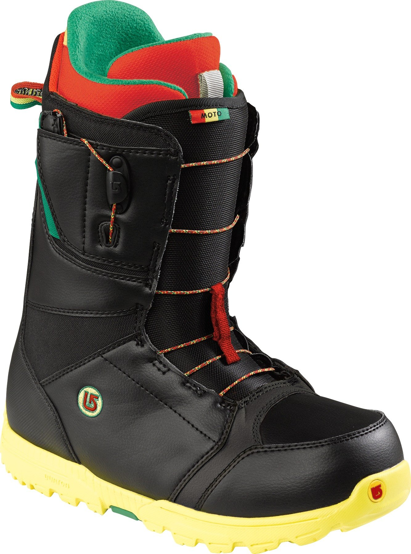 Burton Men's Moto Snowboard Boots - Black