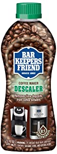 Bar Keepers Friend Coffee Maker Descaler (12 oz) - Removes Mineral Deposits from Espresso Makers and Automatic Drip and Single-Cup Coffee Makers