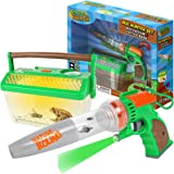 Nature Bound Bug Catcher Vacuum with Light Up Critter Habitat Case for Backyard Exploration - Complete Kit for Kids Includes