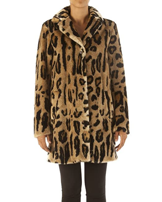 Cappotto Maculato Liu Jo (Natural Spotted 67ca19aaef6