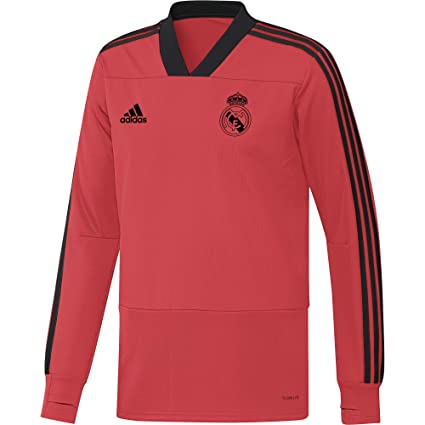 Image Unavailable. Image not available for. Color  adidas 2018-2019 Real  Madrid UCL Training Top (Red) 162bfe6e7
