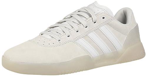 c08a66cb938b adidas Originals Men s City Cup Skate Shoe Crystal White