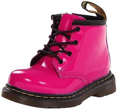 531603b6c4aa Dr. Martens Girls' Brooklee b-K, Hot Pink Patent, 3 UK (4