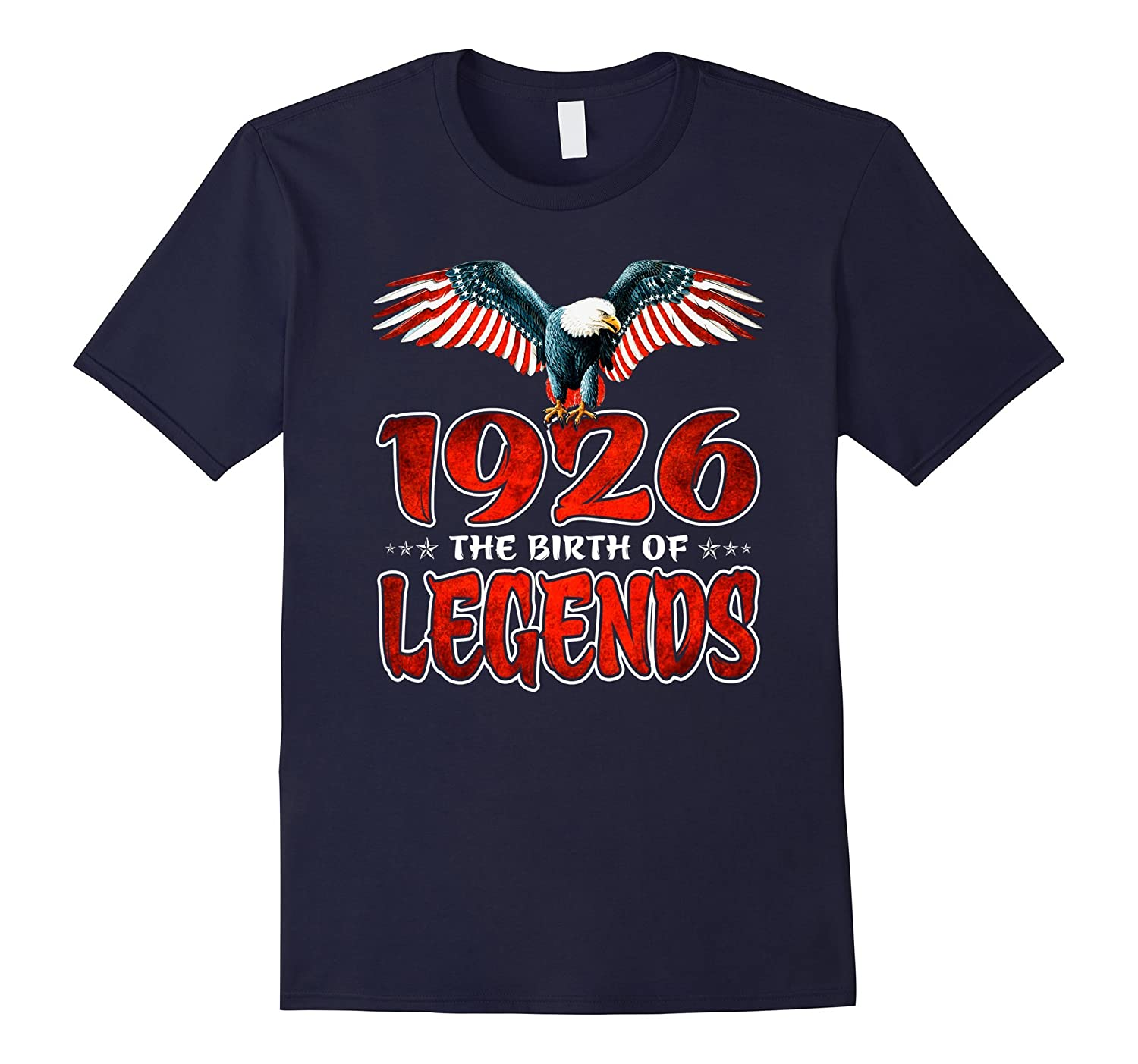 1926 The Birth of legends  91 Years Old Birthday Gift Shirt-PL