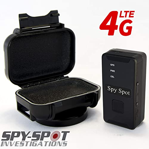 Spy Spot Micro GL 300 Real Time GPS Tracker with Weatherproof Magnetic Black Case