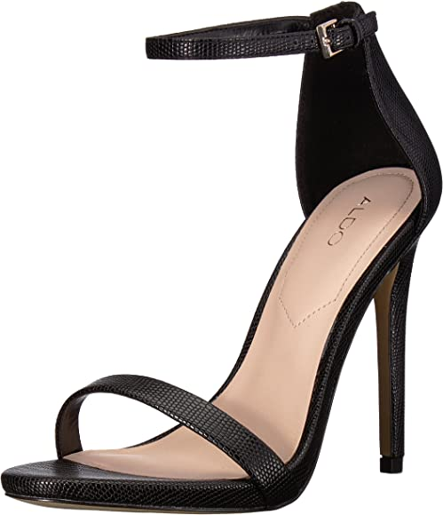ALDO Women's CARAA Heeled Sandal, Black