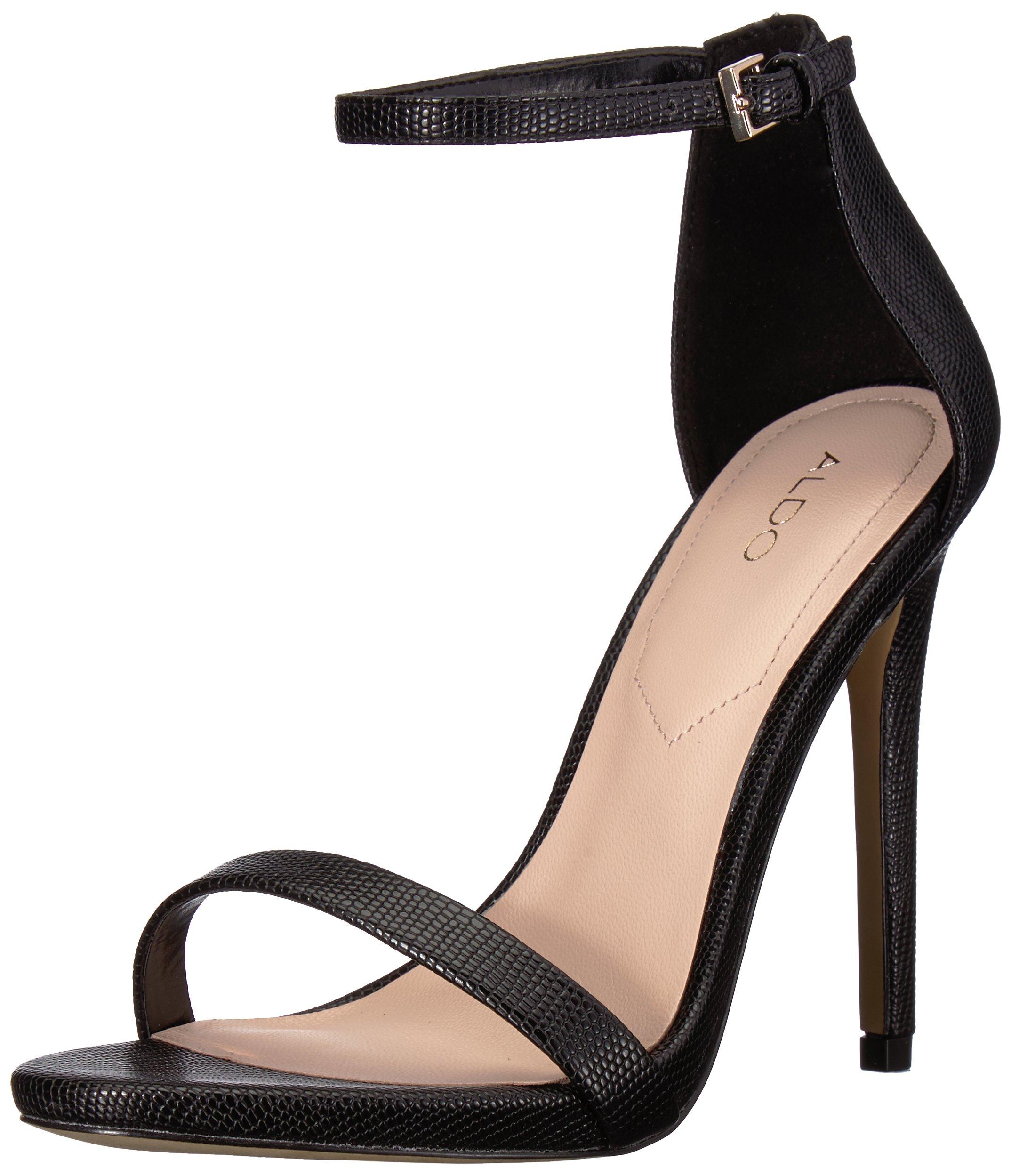 ویکالا · خرید  اصل اورجینال · خرید از آمازون · ALDO Women's CARAA Heeled Sandal, Black Synthetic, 9 B US wekala · ویکالا