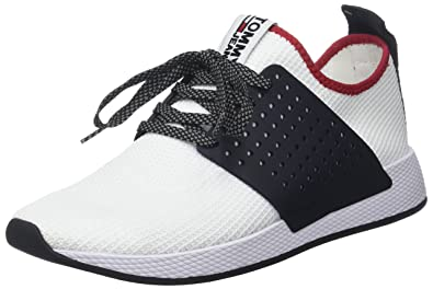 566b1e183013 Hilfiger Denim Herren Tommy Jeans Knit Sneaker  Amazon.de  Schuhe ...