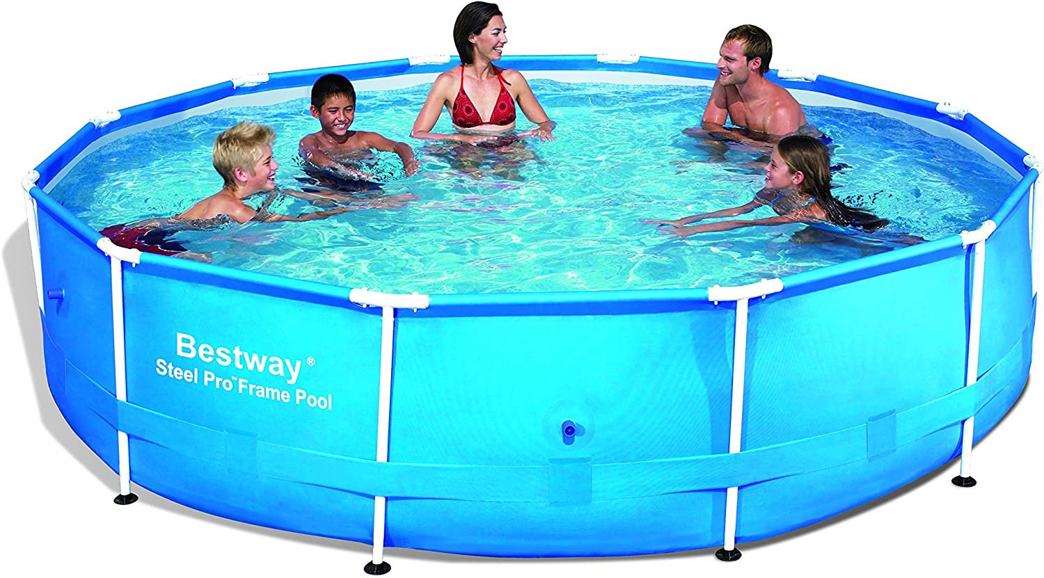 Bestway Steel Pro - Piscina, 366 x 76 cm: Amazon.es: Jardín