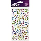 Sticko Music Notes Stickers