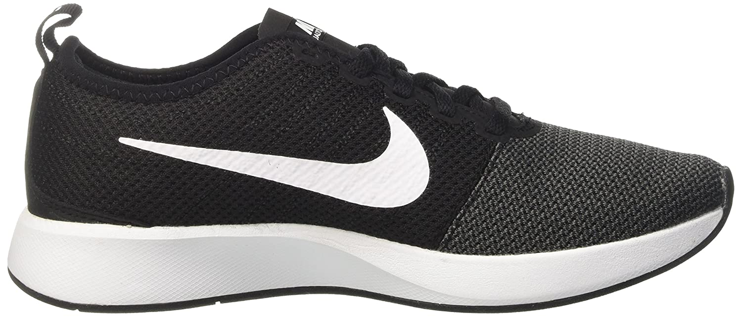 NIKE Women's Dualtone Racer Running Shoe B005A5E5F6 5.5 B(M) US|Black/White/Dark/Grey