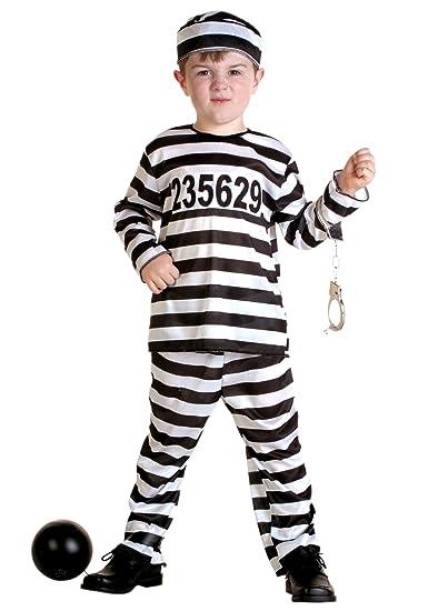 Amazon.com FunCostumes Fun Costumes Little Boysu0027 Prisoner Costume Clothing  sc 1 st  Amazon.com & Amazon.com: FunCostumes Fun Costumes Little Boysu0027 Prisoner Costume ...