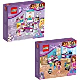 LEGO Friends Olivia & Stephanie 66569 Building Kit Bundle (185 Piece)