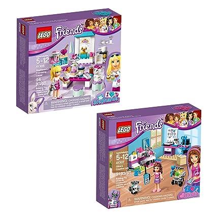 Lego Friends Olivia Stephanie 66569 Building Kit Bundle 185 Piece