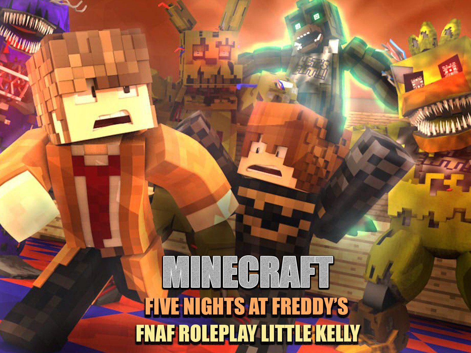 Amazon com: Five Nights at Freddy's - Minecraft Fnaf
