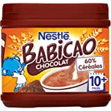 Nestlé Bébé Babicao Chocolat dès 10 mois 400g - Lot de 3