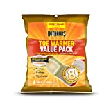 Amazon Price History for:HotHands Toe Warmers - Long Lasting Safe Natural Odorless Air Activated Warmers - Up to 8 Hours of Heat - 6 Pair