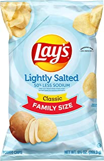 product image for Lay's Potato Chips, Lightly Salted, 9.5 Ounce