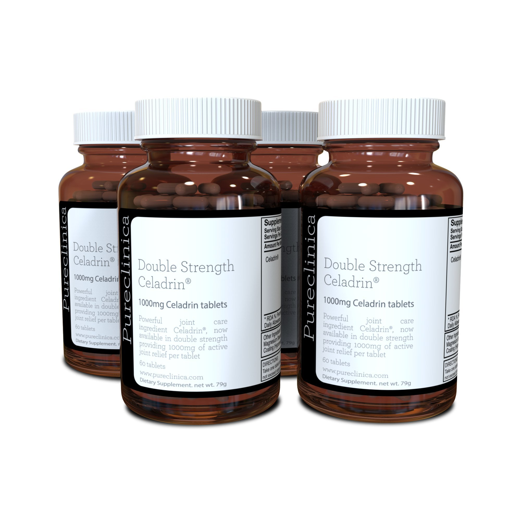 Double Strength Celadrin® - 8 Month Supply! (1000mg x 240 Tablets) 4 Bottles for a Specially Reduced Price! SKU: CEL3x4