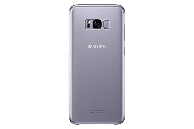 the best attitude b9545 abf9f Samsung Galaxy S8+ Clear Protective Cover, Orchid Grey