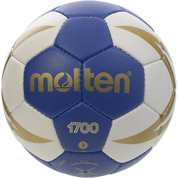 Molten HX1700 - Balón de Balonmano, Benjamín-niños, Blanco y Azul, Talla 0: Amazon.es: Deportes y aire libre