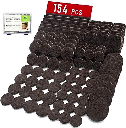 US Chair Table Legs Mats Cover Protector Self Adhesive Floor Pads Feet Anti-Slip