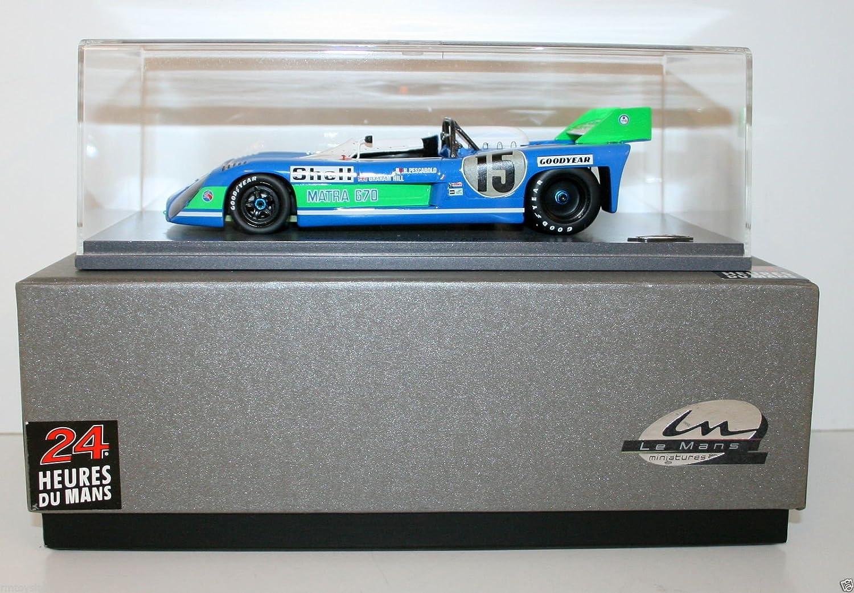 Spark 1/24 Scale Model LMS005 - Matra-Simca MS 670 LM 1972 -  15 Pescarolo/Hill