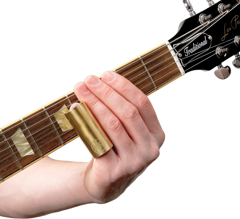 D/'Addario PWBS-RR Rich Robinson Brass Guitar Slide